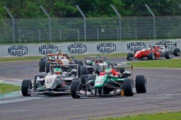 A Hockenheim 30 monoposto in griglia con il Formula 3 Austriaco