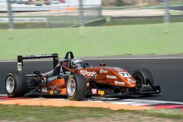 Riccardo Ponzio si prende la rivincita in Gara 2 a Vallelunga